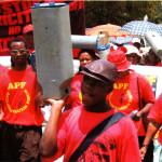 APF protest